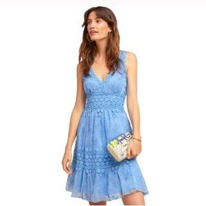 NWOT Anthropologie Ranna Gill Veronica Lace Dress